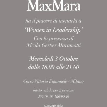 BPW Ticino ospite di MaxMara a Milano